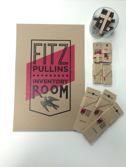 Fitz Pullins Inventory Room