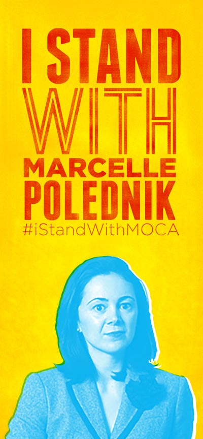 I Stand With Marcelle Polednik