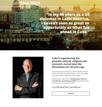 John Caulfield Website
